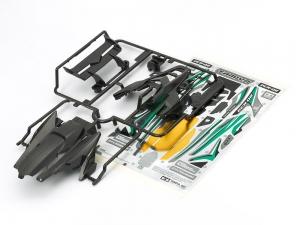 DCR-02 Body Parts Set (Gun Metal)