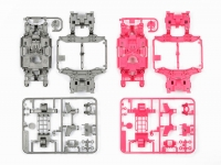 MS Chassis Set (Silver/Pink)