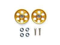 HG Lightweight 19mm Aluminum Ball-Race Rollers (Ringless/Gold)