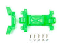 Reinforced Gear Cover (for MS Chassis) Fluorescent Green Mini 4WD Station