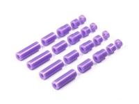 Lightweight Plastic Spacer Set (12/6.7/6/3/1.5mm) (Purple)