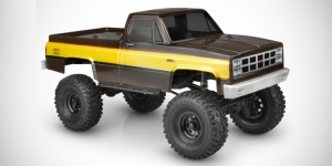 "JConcepts 1982 GMC K10 12.3"" wheelbase body shell"