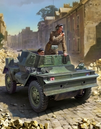 British Armored Scout Car