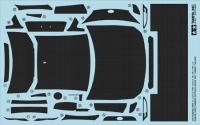 1/24 Scale Subaru BRZ Carbon Pattern Decal Set