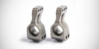 Spec-R XB4 series aluminium rear hubs