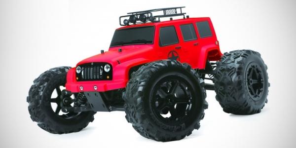 Team Magic J-Star 6S red edition monster truck