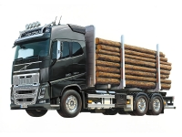 Volvo Globetrotter FH16 6x4 Timber Truck