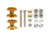 Lightweight Double Aluminum Rollers (13-12mm/Gold)