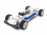 1/10 R/C TT-02 Chassis Kit White Special