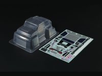 1/24 Scale MudMad Clear Body Parts Set