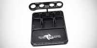 Team Powers multi-function alloy parts tray