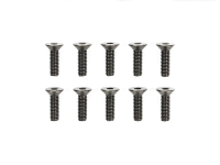 3x10mm Steel Countersunk Hex Head Screws