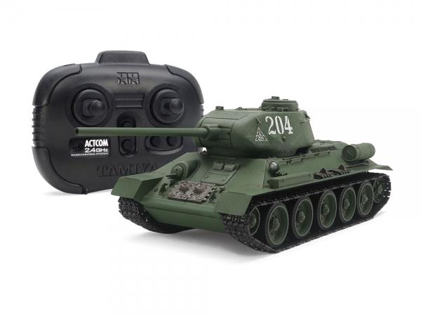 Russian Medium Tank T-34-85 (w/Control Unit)