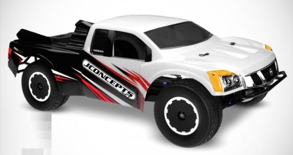 JConcepts Nissan Titan SC body