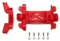 Reinforced Gear Cover (for MS Chassis) Red Mini 4WD Station