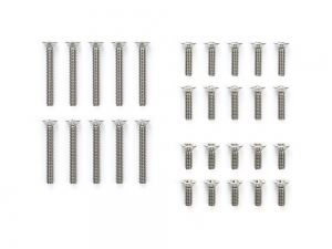Stainless Steel Countersunk Screw Set (6/8/15mm)