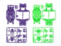 MS Chassis Set (Purple/Green)