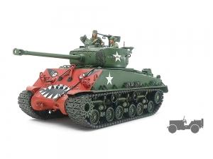 "U.S. Medium Tank M4A3E8 Sherman ""Easy Eight"" Korean War"