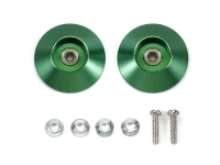 HG 19mm Tapered Aluminum Ball-Race Rollers (Ringless/Green)
