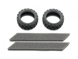 Rally Block Tires (Soft/2pcs.)