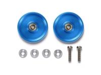 HG 19mm Aluminum Ball-Race Rollers (Ringless/Blue)