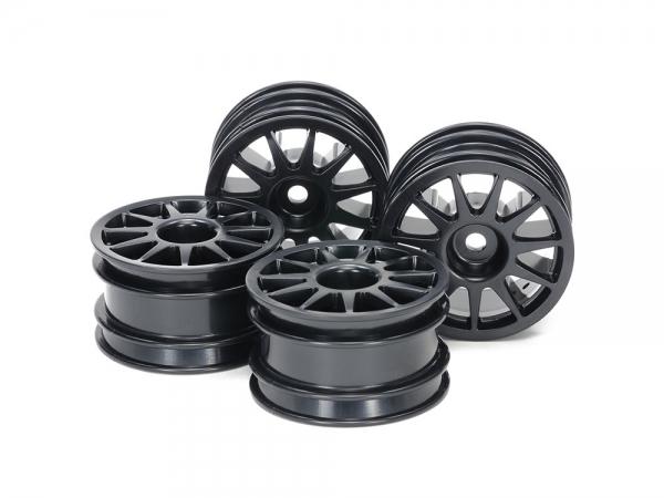 M-Chassis 11-Spoke Wheels (Black, 4pcs.)