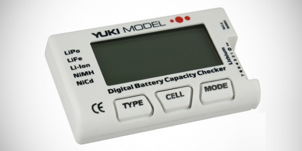 Yuki Model Digital Battery Capacity Checker