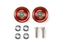 13mm Aluminum Ball-Race Rollers (Ringless/Red)