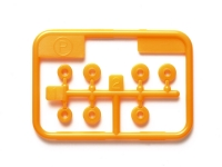Low-Friction Plastic Bearing Set (Orange)