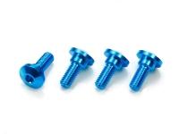 Aluminum Servo Step Screws (4pcs.)