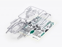 DCR-01 Body Parts Set (Light Smoke)