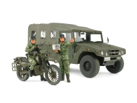1/35 JGSDF Reconnaissance Motorcycle & High Mobility Vehicle Set