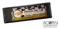 4900mAh 34C 2S1P 7.4V Carbon Edition Hardcase Race Lipo v2