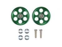 HG Lightweight 19mm Aluminum Ball-Race Rollers (Ringless/Green)