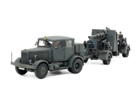 1/48 German Heavy Tractor SS-100 & 88mm Gun Flak37 Set