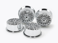 Wire Spoke Wheels for Low-Profile Tires (Silver Plated)