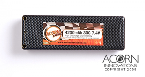 4200mAh 30C 2S1P 7.4V Carbon Edition (AR4200RC)