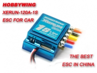 XERUN-120A-1S-SD (V2.1) Brushless ESC for 1/12 and 1/12 Car (Competitive Race)