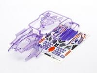 DCR-01 Body Parts Set (Clear Purple)