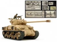 1/35 Israeli Tank M51 (w/Aber Photo-Etched Parts)
