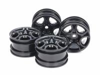 C-Shaped 10-Spoke Wheels (Black) 4pcs.