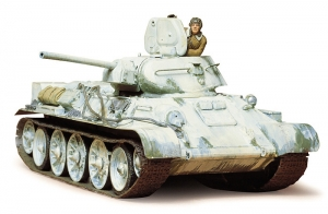 Russian Tank T34/76 1942 Production Model