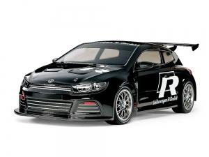1/10 R/C Volkswagen Scirocco GT (Black Painted Body) (TT-01 Type-E)