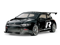 1/10 R/C Volkswagen Scirocco GT (Black Painted Body) (TT-01 Type-E)