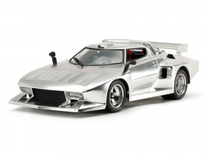 1/24 Lancia Stratos Turbo (Silver Color Plated)