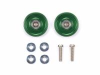 13mm Aluminum Ball-Race Rollers (Ringless/Green)
