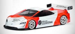Protoform Turismo 190mm touring car body shell