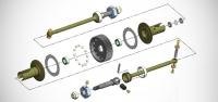 MIP Pucks 17.5 drive system & alloy C-CVD's