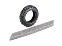 T3-01 Front Caramel Block Tire