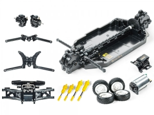 1/10 R/C First Try R/C Kit TT-02B Chassis w/Neo Scorcher Body